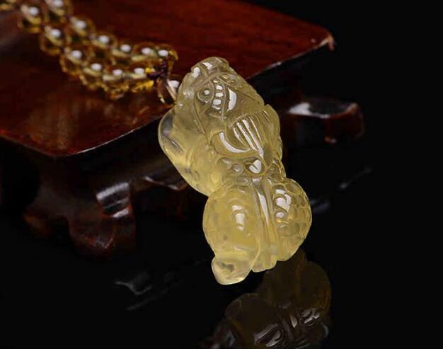 发晶是一种象征财富的水晶,佩戴发晶貔貅吉祥物有什么忌讳吗?- 易德轩吉祥商城