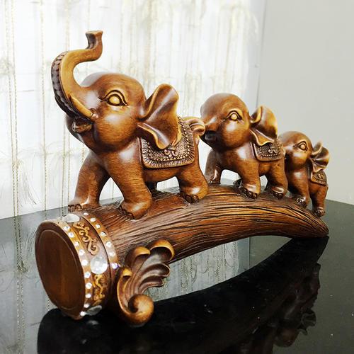 小大象有什么风水作用?木制小大象摆放在家中什么位置比较好?- 易德轩吉祥商城
